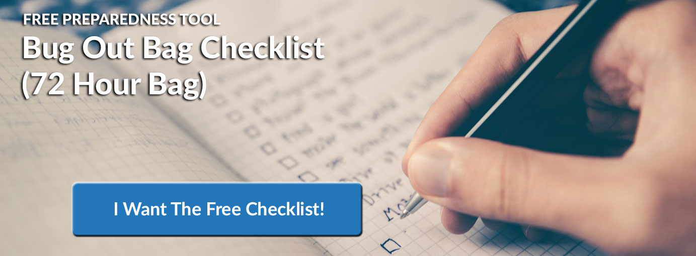 Download The Free Bug Out Bag Checklist!