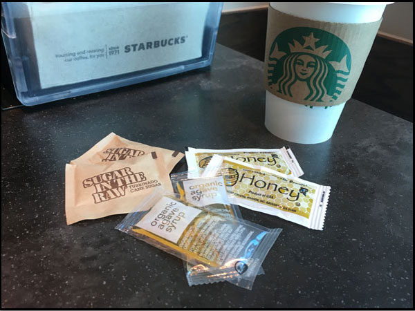 Starbucks Freebie Trio