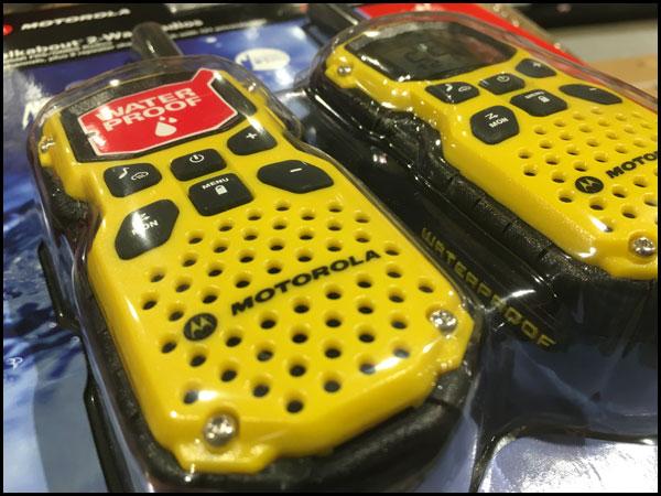 Motorola MS350R GMRS FRS Radios