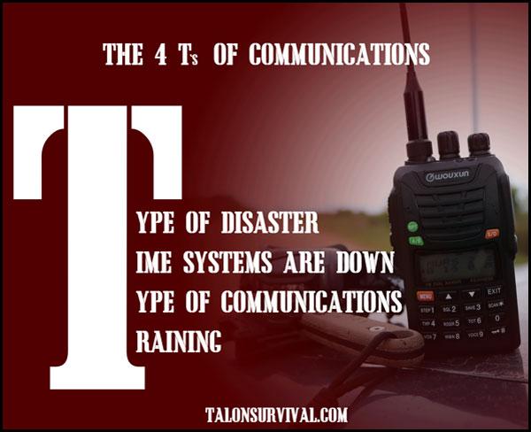 4 Ts of Communications