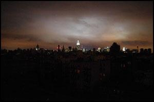 Hurricane Sandy Blackout
