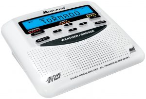 Midland WR120B NOAA Weather Alert Radio