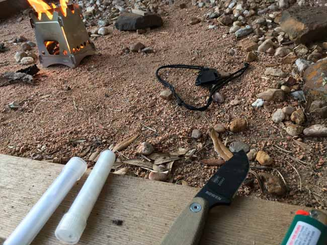 ESEE Izula II and Stove
