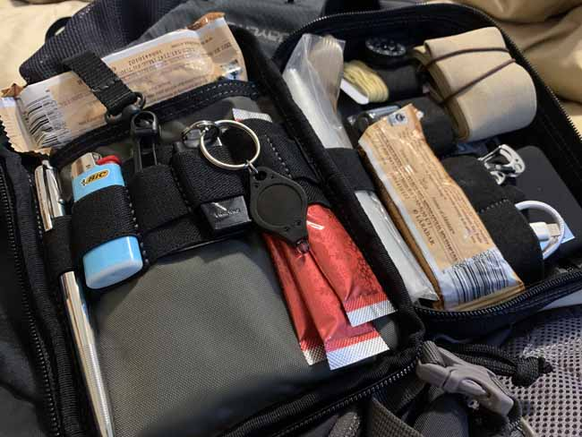 TSA Travel Survival Kit with Contents
