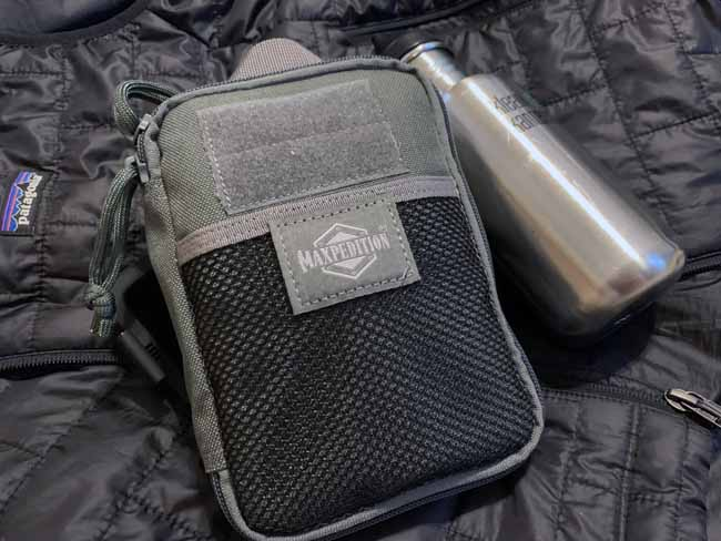 TSA Travel Survival Kit in Maxpedition Fatty