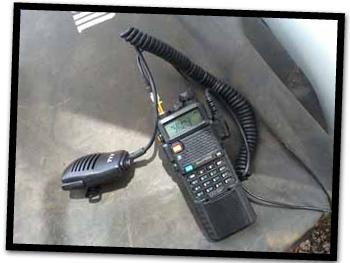 Baofeng UV-5R w Speaker Mic